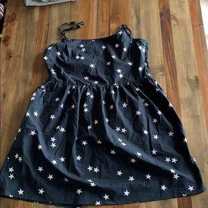 Gap tie shoulder Dress size 12